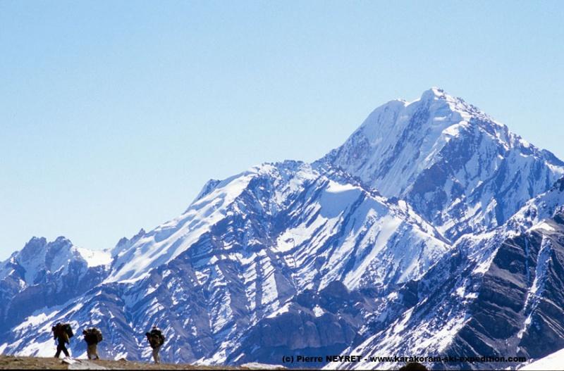 Pics du massif de Chiantar