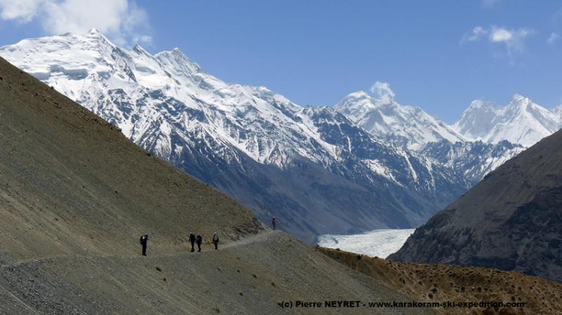 Nous partons de Shimshal pour 21 jours en montagne