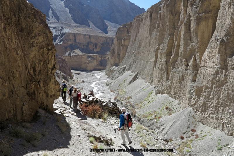 Canyon de la Surukwat dans l Aghil