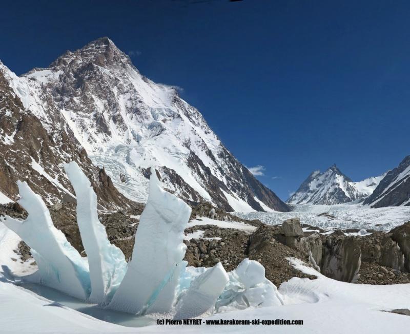 Land art au pied du K2