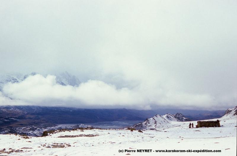 Boroghil sous la neige