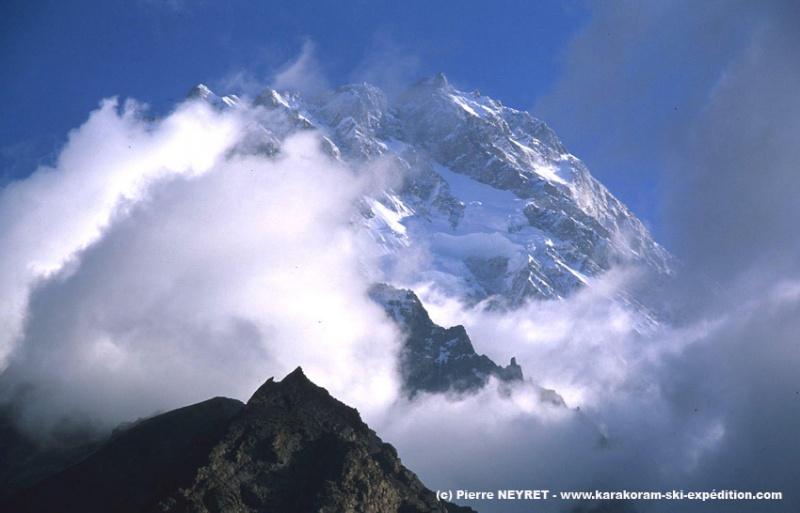 paroi Rupal du Nanga Parbat (face sud)