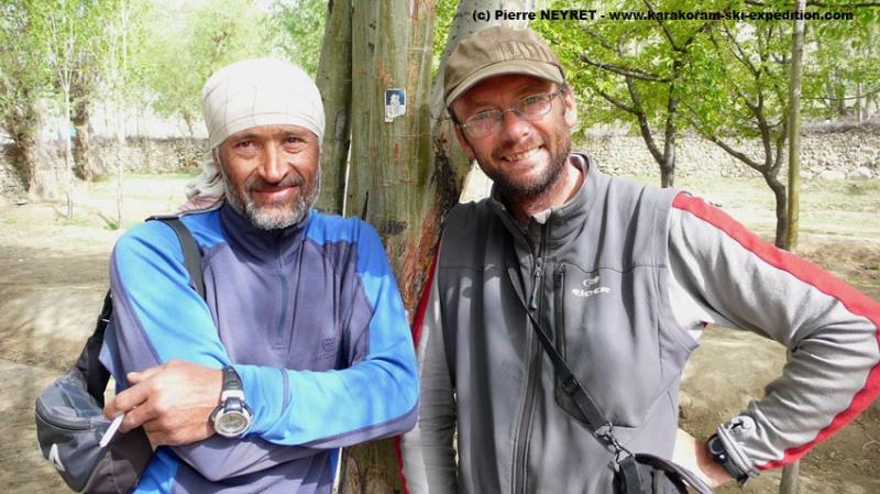 Jahangeer et Pierre à Askole