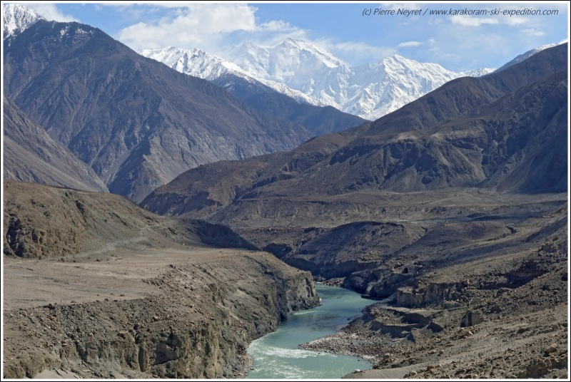 Indus et Nanga Parbat