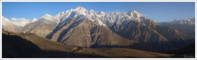 Zani pass, 3700 m, belvedere sur les plus hauts sommets de l Hindou Kouch