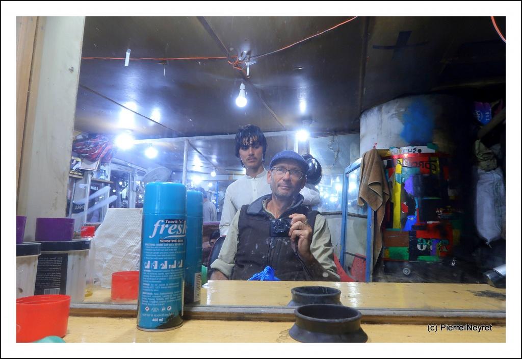 Chez le coiffeur a Chitral