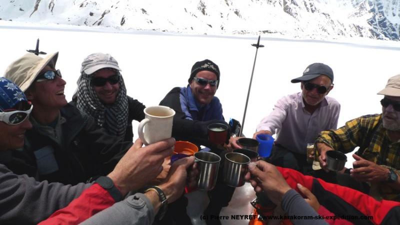 Une grande traversée dans le Karakoram ça se fête !