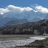 Front du glacier des Gasherbrum