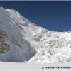 Grosse avalanche le matin du 3eme col