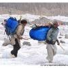 Les porteurs de Askole nous rejoignent vers Mango, 3800 m