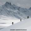 Ski au dessus du col d Hispar