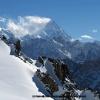 Vue sur le Karakoram faces nord et le K2