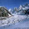Montée au Baintha Peak, face au Baintha Brakk