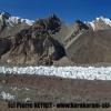 Le glacier nord des Gasherbrum, avec le Broad Peak en amont