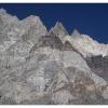 Aiguilles de marbres sur le frontiere afghane