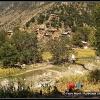 Village Kalash de la vallee de Rumbur