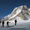 Sous le Marble Peak 6256 m