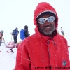 Jahangeer dans la tempête à Snow Lake