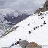 28 avril, depart pour le glacier de Darkot, avec une equipe de 25 porteurs