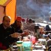 Petit déjeuner à Arbap Purien
