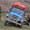 La jeep bagage en mauvaise posture