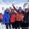 Les 4 super women au 4eme col, le Garmush pass, 5200 m