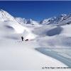Houle glaciaire a la jonction des glaciers de Garmush et de Chiantar