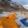 Camp 12, 4000m,  le dernier sur le glacier