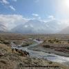 Arrivée au camp de Sughet Jangal ( la jungle de saules), à l entrée de la vallée nord du K2