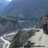 Sur la piste en amont de Bunar