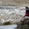 Pause devant le Kunyang Chhish glacier