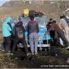 Probleme avec la jeep bagage dans une tourbiere