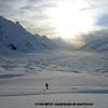Balade du soir à l aplomb du glacier d Hispar