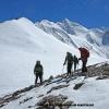 Sur un belvedere 4750 m au dessus de la vallée Sarpo Laggo