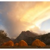 Camp dans la vallee de Yakhun