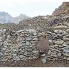 Hameau d alpage de Ishperu Dok, habite pendant l ete par des bergers de la vallee de Yakhun