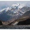 Devant le front du glacier du Gasherbrum