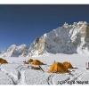 Camp a Snow Lake, devant les tours de Solu