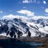 A l aplomb du lac Karambar
