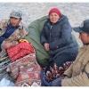 Kirghizes au camp