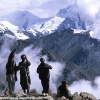Sur le versant Diamir du Nanga Parbat
