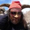 Denis déguisé en Blue Sheep !