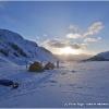Le soir du 6 mai nous campons sur le glacier de Chiantar, 9 jours apres notre depart de Chikar