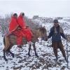Chaque famille possede un cheval pour circuler sur le plateau du Boroghil