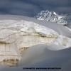Crevasses du glacier d Hispar