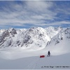 Descente du 2eme col, vers un glacier inconnu