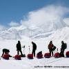 Pause sur le medium Braldu Glacier
