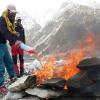 Incinération de toutes les ordures sur Biafo
