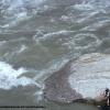 Heure de la prière sur le rivière Astore