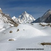 Rando vers le Broad Peak BC, face au K2